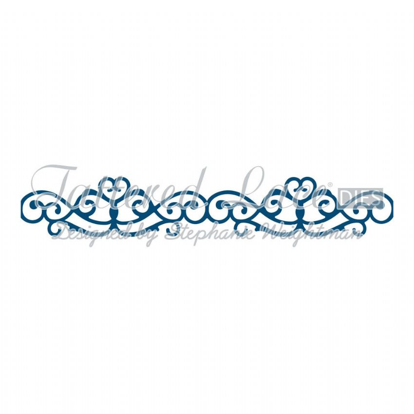 Tattered Lace Die Archway Border - D681